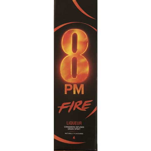 8 PM FIRE LIQUEUR 750ML - Liquor Mart online gifts NZ