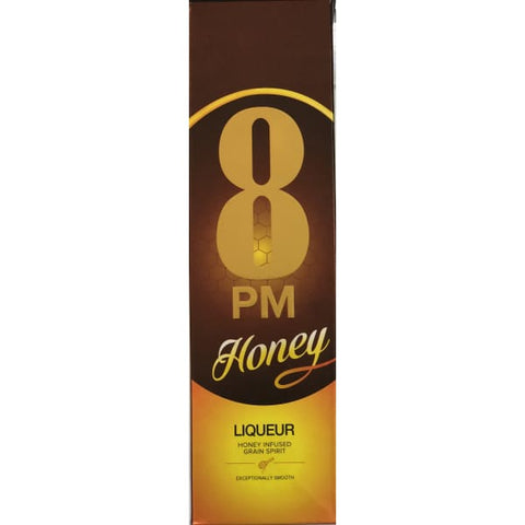 8 PM HONEY LIQUEUR 750ML - Liquor Mart online gifts NZ