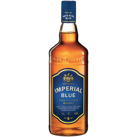 Imperial Blue Indian Whisky 42.8% 750ml - Liquor Mart online gifts NZ