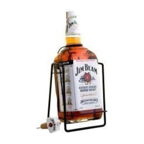 Jim Beam Bourbon Swing Cradle 4.5Lt - Liquor Mart online gifts NZ