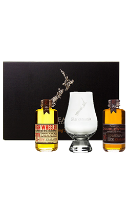 High Wheeler and Dunedin Double wood glass gift pack