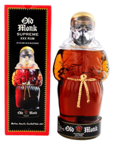 Old Monk supreme Indian Dark Rum  750ml