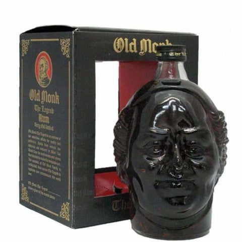 Old Monk Legend Dark Rum 1L 42.8% - Liquor Mart online gifts NZ