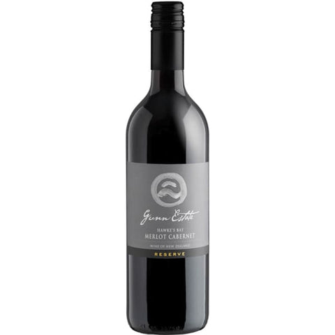 GUNN Estate MERLOT CAB 750ML - Liquor Mart online gifts NZ