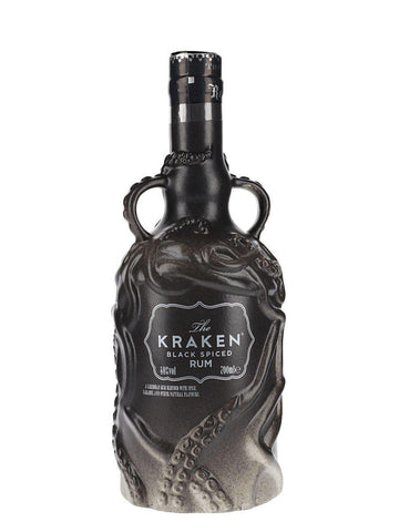 Kraken Black Spiced Rum Ceramic 40%, 700ml- 2018 Edition (Grey)