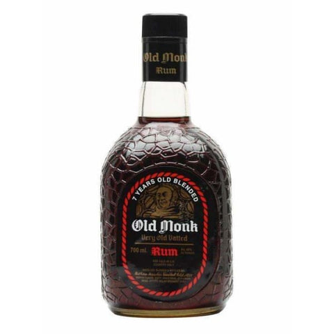 Old Monk Indian Dark Rum 38% 750ml - Liquor Mart online gifts NZ