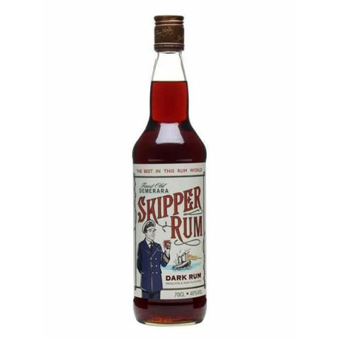 Skipper Dark Rum 700ml - Liquor Mart online gifts NZ