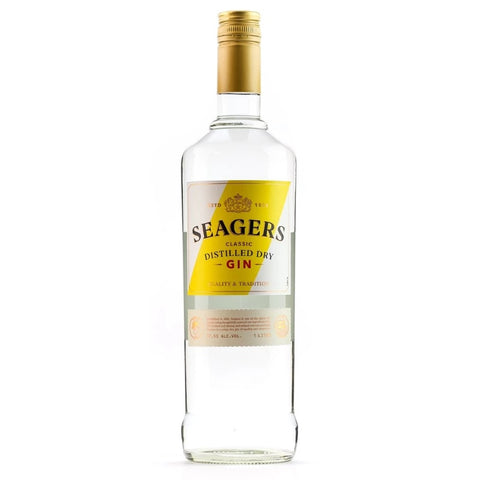 Seagers Dry Gin , 1 litre