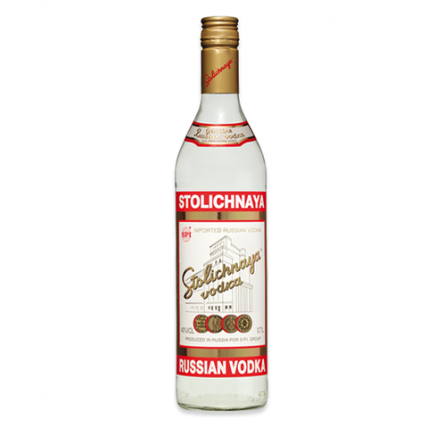Stolichnaya Russian Vodka 40%, 700 ml