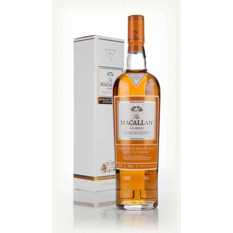 MACALLAN 1824 AMBER 40% 700ML - Liquor Mart online gifts NZ