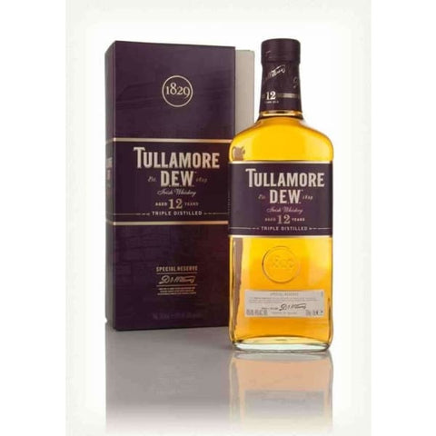 TULLAMORE DEW IRISH 12YO 700ML - Liquor Mart online gifts NZ