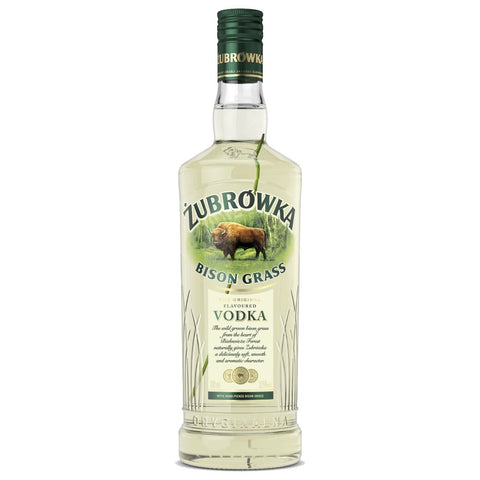 Zubrowka Bison Grass Vodka 1Litre