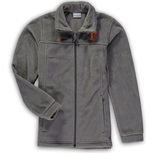 Youth Columbia Charcoal Flanker Full-Zip Jacket