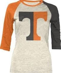 TN Haliegh Two Tone 3/4 Raglan