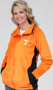 Orange TN Full Zip Fleece