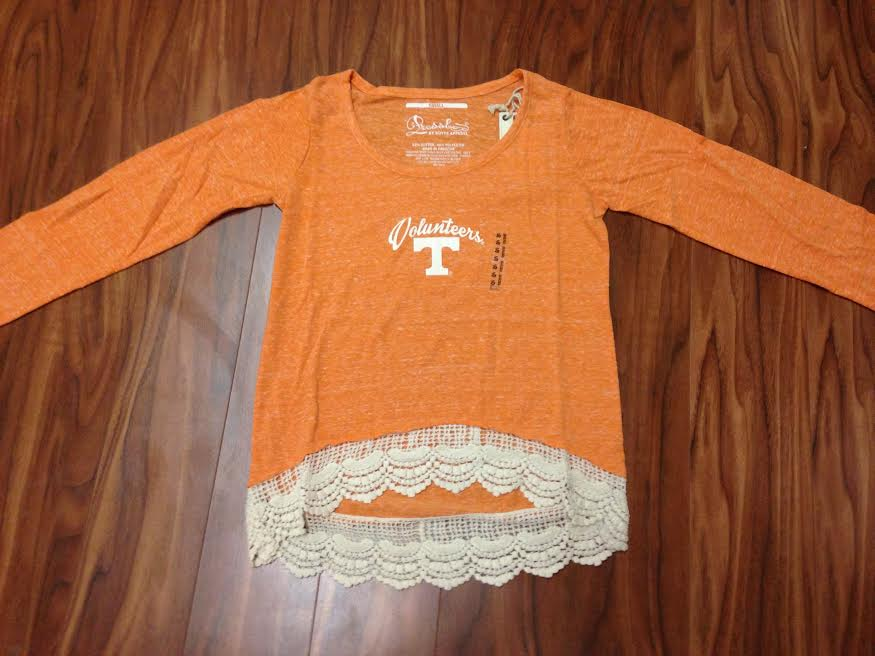 TN Crochet Trim Top