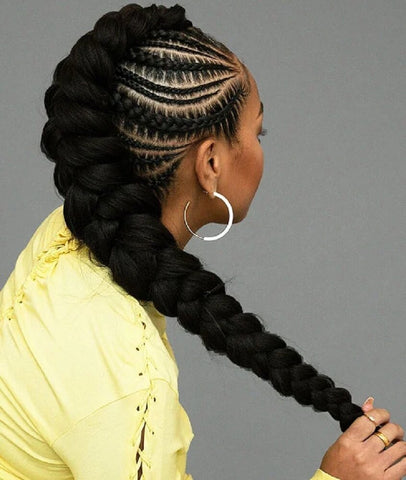 Braid Hairstyles- Butterfly Braid Hairstyle