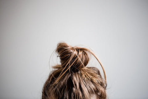 Christmas Hairstyles- Textured Middle Bun