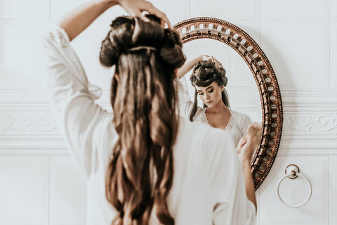 New Bridal Hairstyle-Half-Up Half Down Hairstyle