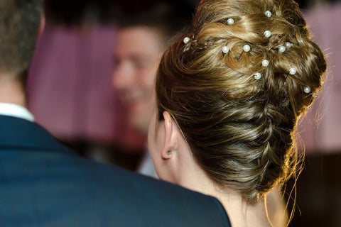 New Bridal Hairstyle-Low Loose Swirl Updo