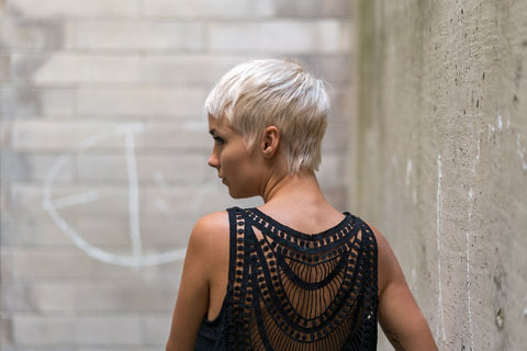 New Bridal Hairstyle-Pixie Cut