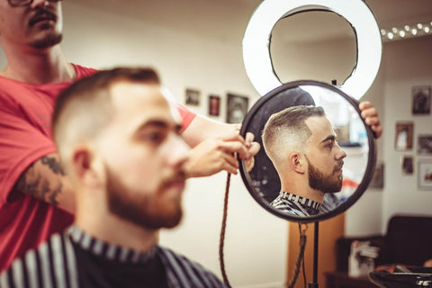 Office Hair Style for Men-Buzz Cut