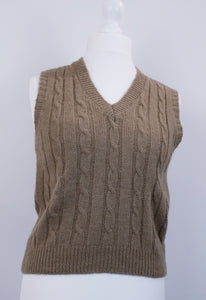 Wool mix cable tank