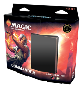 Preorder - MTG -  Commander Legends Commander Deck Arm for Battle/Reap the Tides (set of 2)