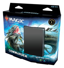 Load image into Gallery viewer, Preorder - MTG -  Commander Legends Commander Deck Arm for Battle/Reap the Tides (set of 2)