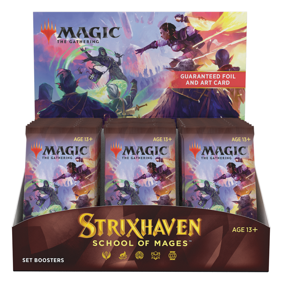 Preorder - MTG - Strixhaven Set Booster Box