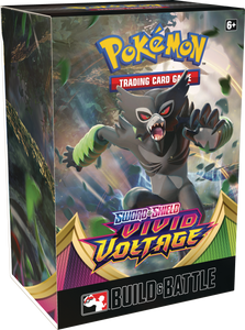 Preorder - Pokemon - Vivid Voltage Prerelease at Home Family Event Kit
