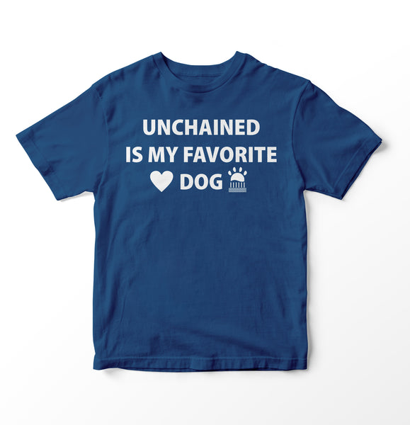 Blue Unchained T Shirt