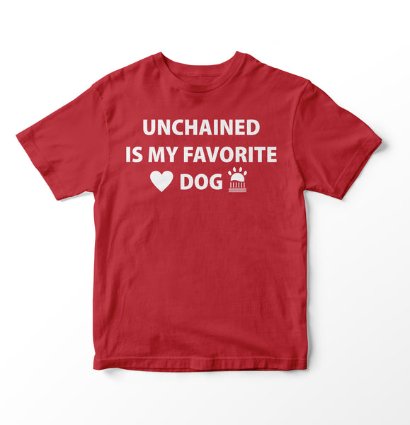 Red Unchained T Shirt