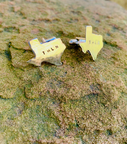 Limited Edition THLN Recycled Metal Cufflinks