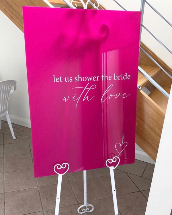 Emilia Bridal Shower Welcome Sign
