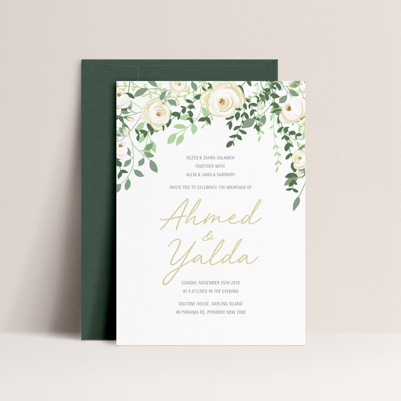 Yalda Digital Print Invitation
