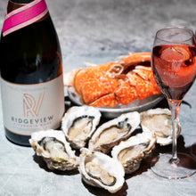 Load image into Gallery viewer, Fitzrovia Rosé & Seafood Valentine's Hamper - Fish To Your Door