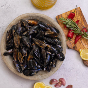 Half Shell New Zealand Mussels - Fish To Your Door