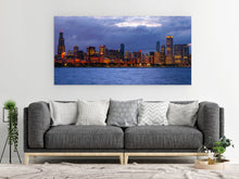 Load image into Gallery viewer, Chicago Blackhawks Chicago Skyline Canvas