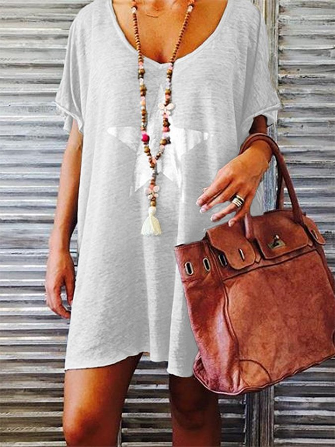 Casual Short Sleeve Dresses