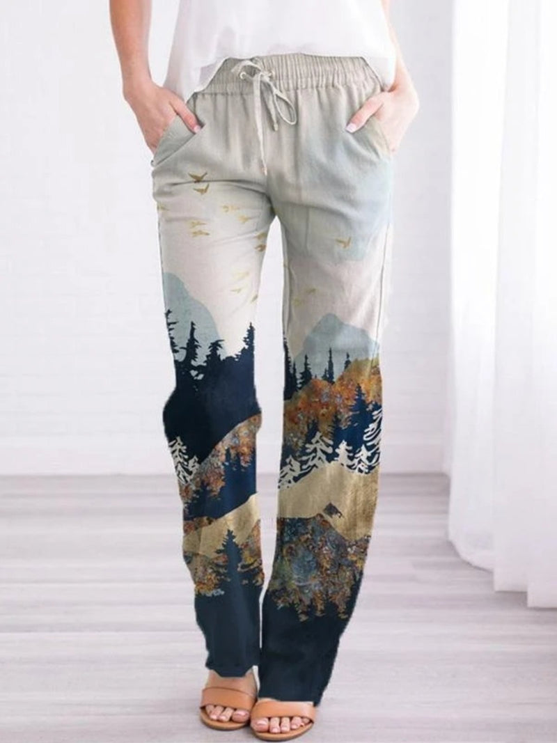 As Picture Casual Cotton Pants
