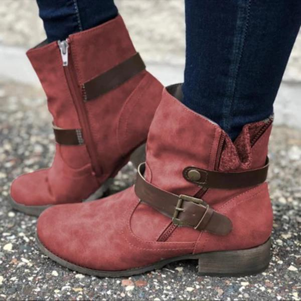 Winter Leather Boots