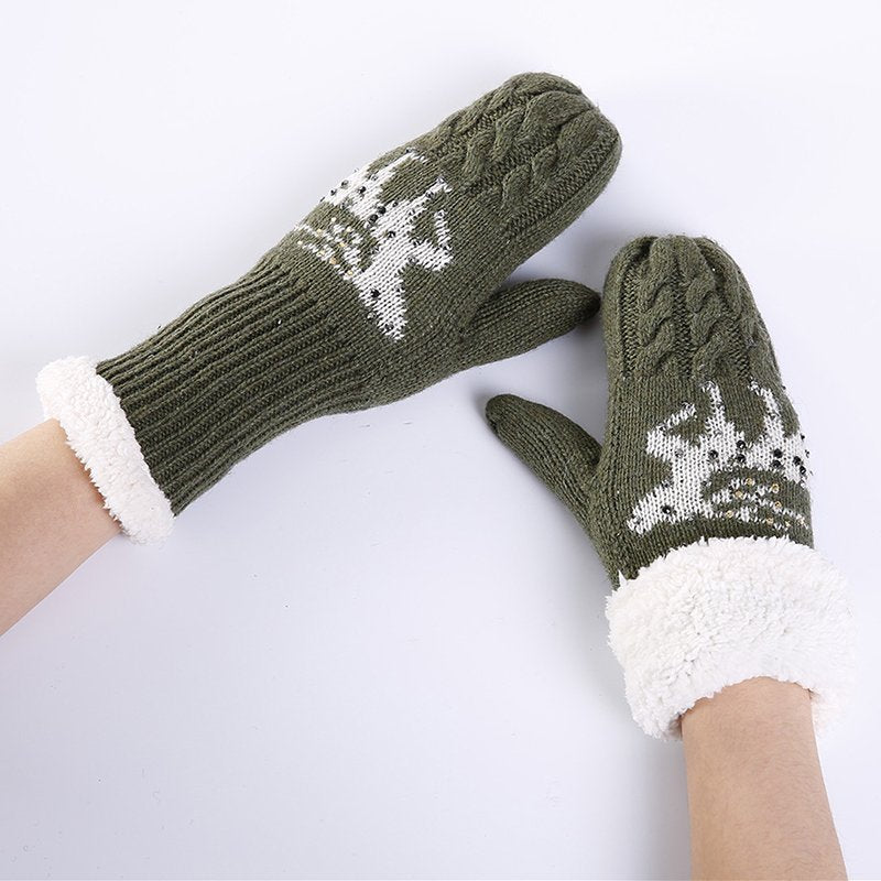 Fawn Gloves & Mittens