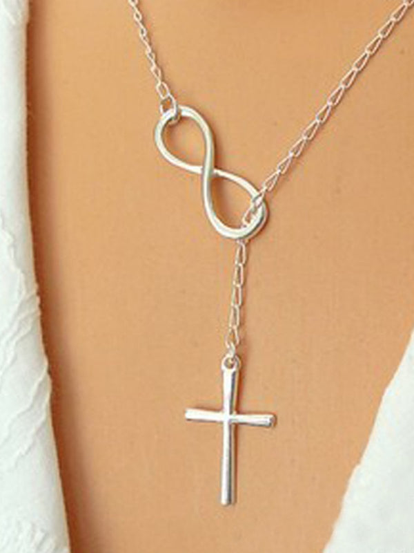 Silver Bowknot Necklaces