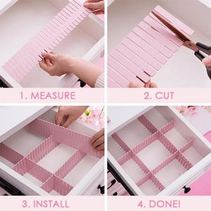 Free Combination Adjustable Drawer Organizer