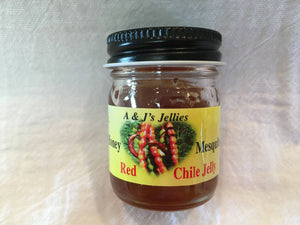 1 oz Honey Mesquite Red Chile Jelly