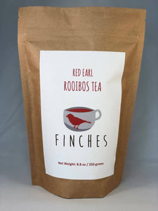 Caffeinated Rooibos with Earl Grey tea 8oz, 20-40 servings