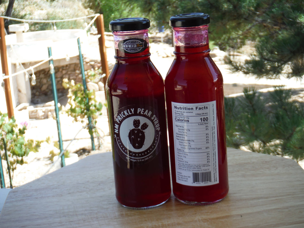Prickly Pear Syrup