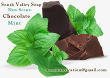 Load image into Gallery viewer, Chocolate Mint Soap