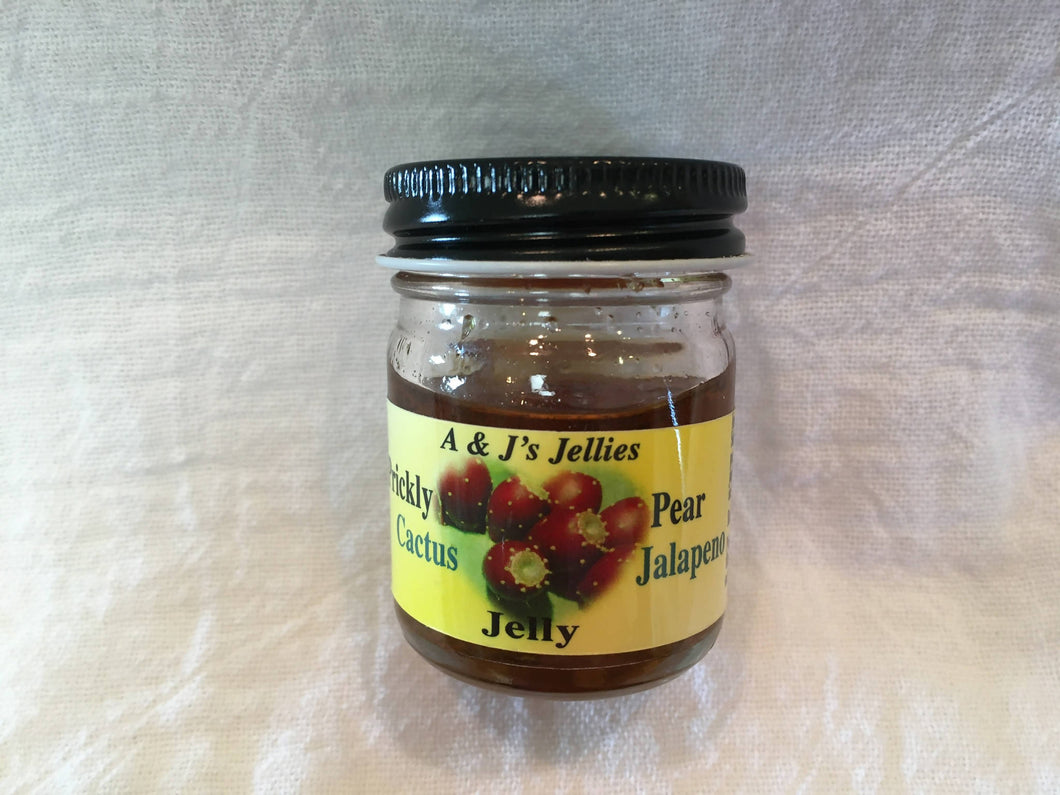 1 oz Prickly Pear Cactus Jalapeño Jelly